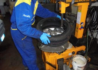 servizio pneumatici
